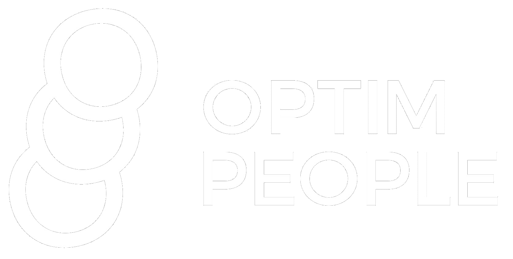 Optim People logo white
